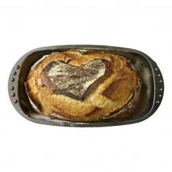 Brot-Backform mit Brot